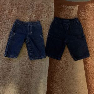 3-6 Months Old Baby Boy Old Navy Jeans & Corduroy